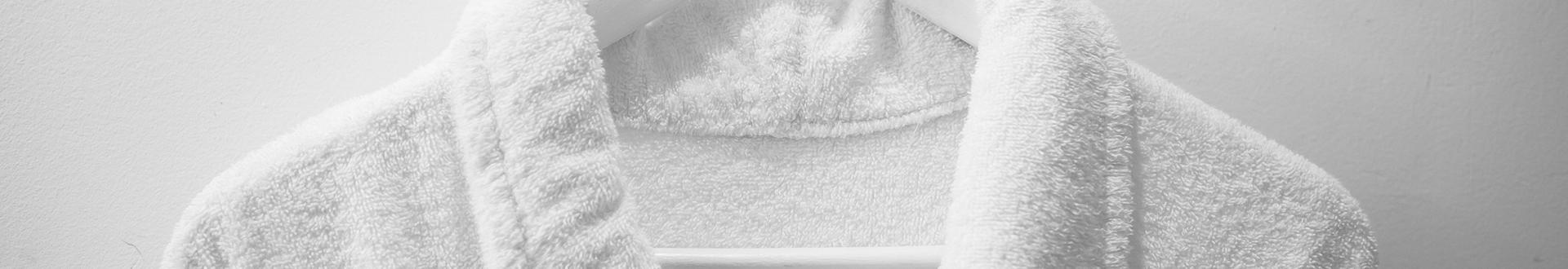 szlafrok biały - Banner
