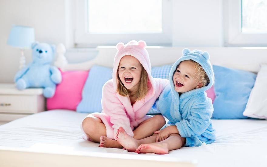 szlafroki dziecięce