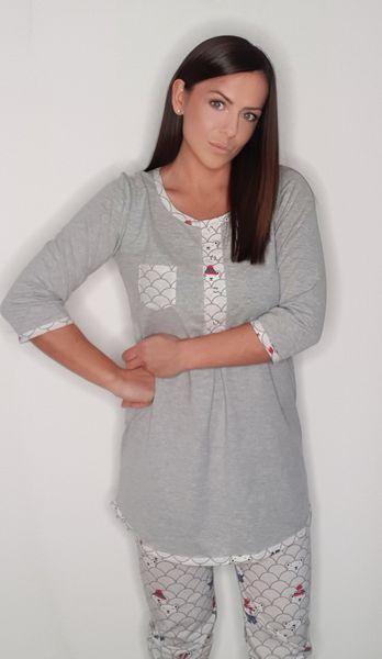 piżama damska 01